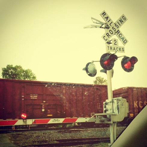 5things - railroad crossing